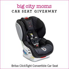 Car Seat Giveaway: Britax ClickTight Convertible Car Seat