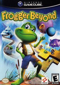 Frogger Beyond Gamecube Game