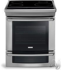 Electrolux 30 Inch Slide-In Induction Range with cu. Self-Clean Convection Oven, Ceramic Glass Cooktop, Wave-Touch Controls and Lower Oven Electric Cooktop, Gas And Electric, Kitchen Stove, Kitchen Appliances, Kitchen Reno, Condo Kitchen, Slide In Range, Induction Stove, Glass Cooktop