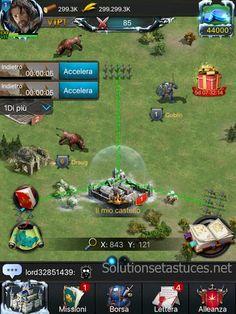 Trucchi Rise of the Kings per dispositivi ios e android