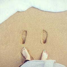 #발자국 남기기 #발자국 #greatoceanroad #apollobay #twelveapostles #Easter #camping #beach #australia #easterbreak #holiday #coast by jherin707 http://ift.tt/1LQi8GE
