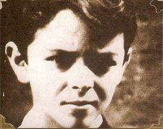 Luca Prodan a los 10 años