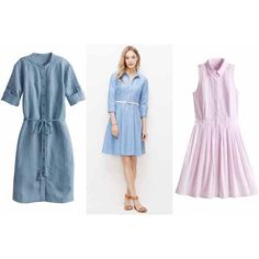 Ann-Taylor-S15-ShirtDress-5.jpg (600×400) via Polyvore