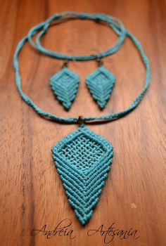 Collar Macrame, Macrame Colar, Macrame Earrings, Macrame Jewelry, Fabric Jewelry, Macrame Bracelets, Micro Macramé, Macrame Patterns, Jewelry Patterns