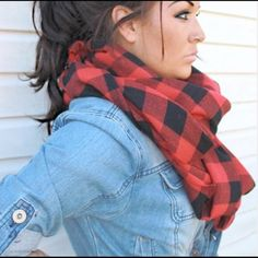 ❗️4 COLORS ❗️ Checkered Plaid Scarves Perfect scarf for fall. Lightweight and airy. Four colors •• Red/Black, Navy/Black, Black/White, Grey/Black. Price is Firm. ❌NO TRADES/PP❌ Jackets & Coats