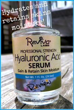 Reviva Labs keeping my skin soft and supple!