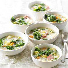 Danish Gronkaal Soup (Green Kale Soup) - Recipe.com