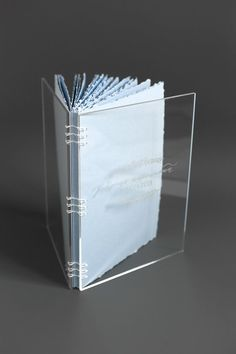 Engraved Acrylic Book Guest Book Wedding Wish book Coptic