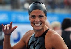 If Dara Torres makes the US Olympic swim team, she will be a 45 year old Olympian.  You can't beat that.