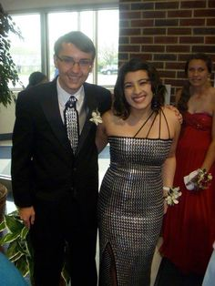 Pop tab prom dress with link to tutorial - CLOTHING Craftster Best of 2014 Winning Project