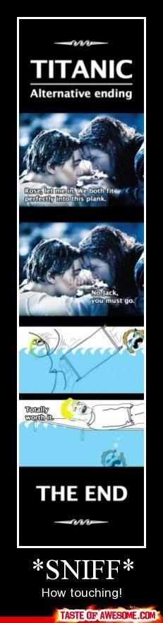 I like this ending.