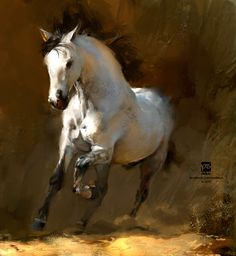 #horse, psdelux ... on ArtStation at https://www.artstation.com/artwork/XNnQ0