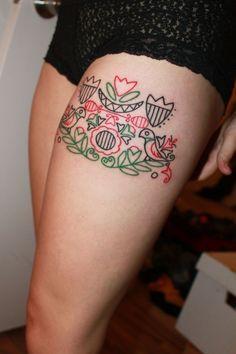 Le tatouage style broderie est en vogue: voici 16 photos pour trouver l'inspiration !