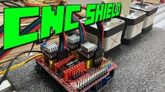 Arduino CNC Shield V3 + DRV8825 - ZoneMaker Arduino Sensors, Arduino Cnc, Arduino Programming, Programming Tutorial, Arduino Beginner, Arduino Shield, Simple Arduino Projects, Diy Cnc, Arduino Projects