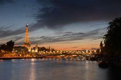 Eiffel and the Seine
