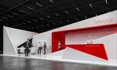 Oracle exhibition stand design idea | | GM stand design