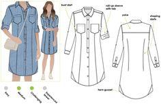 Italia Shirt Dress