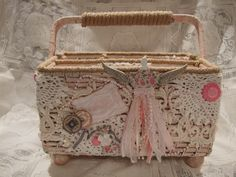 Tresors de Luxe DT Project: Sewing Caddy