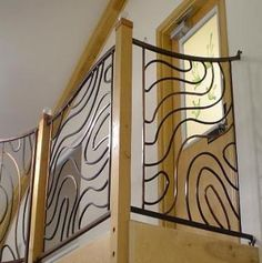 IronByChad.com Custom wrought iron railings, steel gazebos, driveway gates