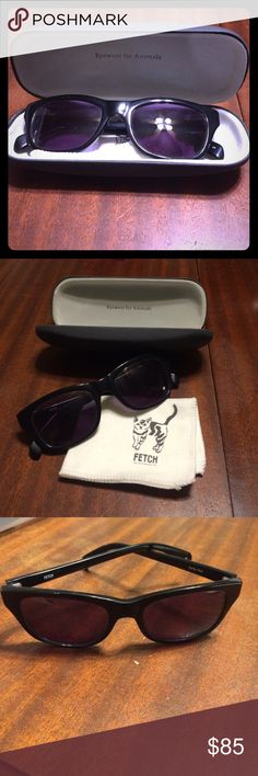 Fetch eyewear Wayfarers! Brand new! Comes with case and cleaning cloth! Fetch Accessories Sunglasses