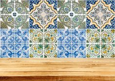 Tiles Stickers Mixed Tiles of 24 Decal ceramic wall by AlegriaM