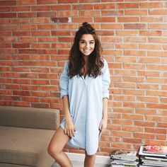 This hairstyle's ridiculous but I love it  @asos shirt dress @liketoknow.it www.liketk.it/1x6gz