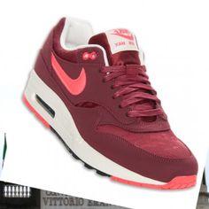 Scarpe da uomo Nike Air Max 1 Premium Sport rosso rosa bianco Torino  Scommesse online