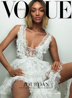 Jourdan Dunn For Vogue Turkey March 2015 #style #fashion #editorial