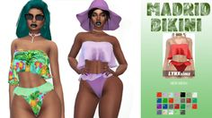 MADRID BIKINI for The Sims 4