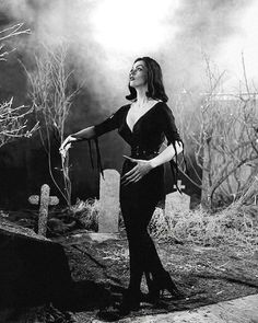 Maila Nurmi as Vampira in Plan 9 From Outer Space