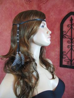 1 BOHO Feather Headband Hair Extension Hippie by Vacationhouse, $14.50
