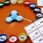 Roleta Silábica com Spinner: Jogo para alfabetização.