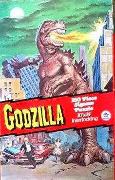 John Kenneth Muir's Reflections on Cult Movies and Classic TV: Godzilla Week: Jigsaw Puzzles (H&G)