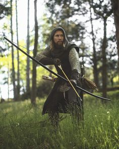 Huntsman Medieval Longbow by Fell & Fair Medieval Archer, Medieval Fantasy, Traditional Bow, Traditional Archery, English Longbow, Renaissance, Bow Hunting, Archery Hunting, Archery Bows