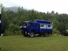 Este es mi magirus. Camper truck
