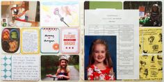 Project Life School / Childhood Album using the Mayfield Childhood Mini Kit #projectlife