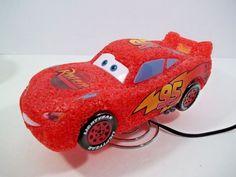 Disney Pixar CARS Lightning McQueen Night Light Table Lamp - #95  #Disney