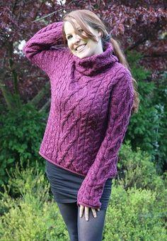 Turtle Neck Sweater CW1825 - Aran Sweaters & Irish Sweaters - Irish Sweater Shop Dublin Ireland