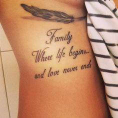 ❤️ FAMILY ❤️Tag the ones you LOVE ❤️ Found via @inkspiretattoos
