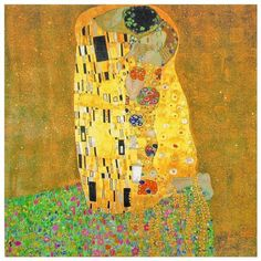 Oriental Furniture Works Of Klimt The Kiss Canvas Wall Art ($25) ❤ liked on Polyvore featuring home, home decor, wall art, canvas home decor, oriental wall art, canvas paintings, canvas panels and asian painting