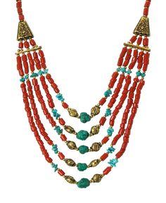 Baby Boomers and Tibetan Jewelry -Multi Strand Necklace: http://boomerinas.com/2012/07/boho-chic-jewelry/
