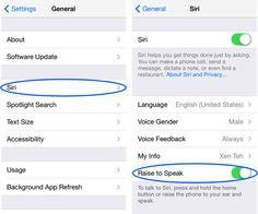 Summon Siri by holding iPhone up to your ear #tips #apple #ios