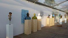 Mainkunstenaars op Art Square Amsterdam, vanaf vandaag t/m 30 juli. Gratis entree. Museumplein Amsterdam.