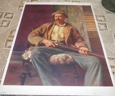 Red, Moore, Hunter Speicher America Art Today National Art Society Print 1939