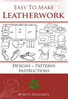 How To Make Leather, Rare Words, Leather Projects, Leather Crafts, Survival Skills, Survival Gear, Knitted Bags, Buttonholes, Couture