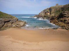 Playa de Santa Justa en #Ubiarco   #Cantabria   #Spain . Turismo Rural de Cantabria en Posada San Telmo