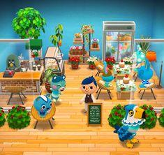 """ゆきこ🍎ポケ森 on Twitter: """"お花屋さんのカフェ🌼🌿  #ポケもく #みんなのキャンプ場 #ポケ森ニンドリ #AnimalCrossingPocketCamp… """" Animal Crossing Guide, Animal Crossing Pocket Camp, Calming Games, Folk, Happy Home Designer, Cabin Design, Diy Things, New Leaf, Cabins"""