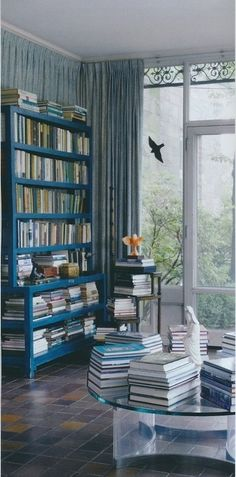 A serene book room #bookrooms #literarydecor