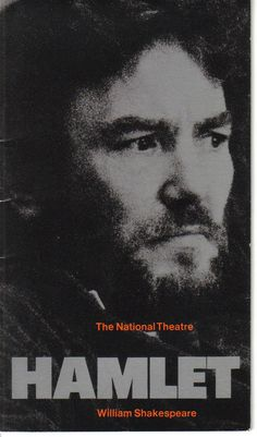 Albert Finney in Hamlet at the National Theatre 1975