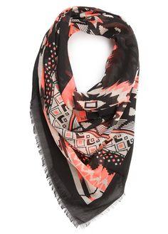 MANGO - Ethnic print scarf